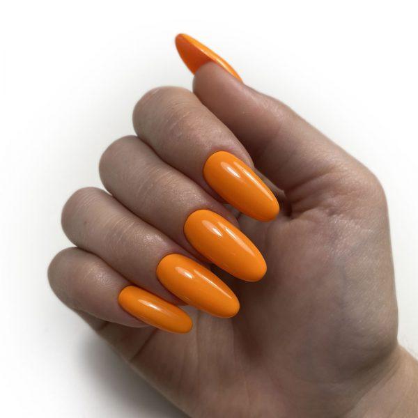 Neon Orange gellack negle